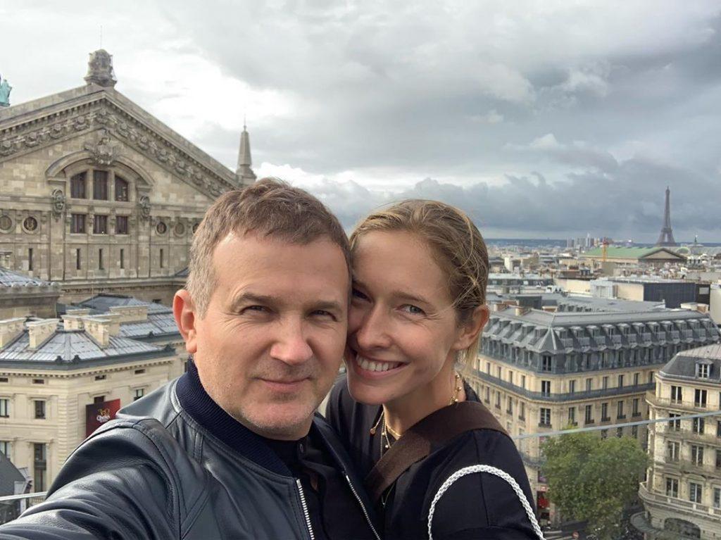 Пара на миллион: Катя Осадчая и Юрий Горбунов на вечеринке Cosmopolitan