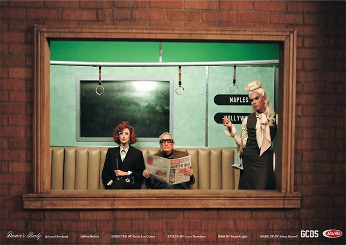 Бренд уличной одежды GCDS презентовал рекламный кампейн с участием Софи Лорен
