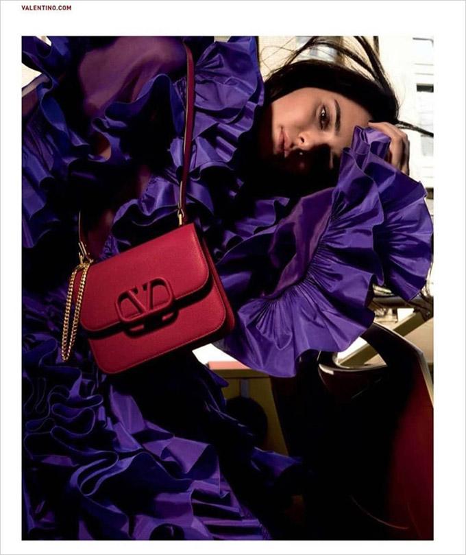 Кендалл Дженнер в кампейне Valentino