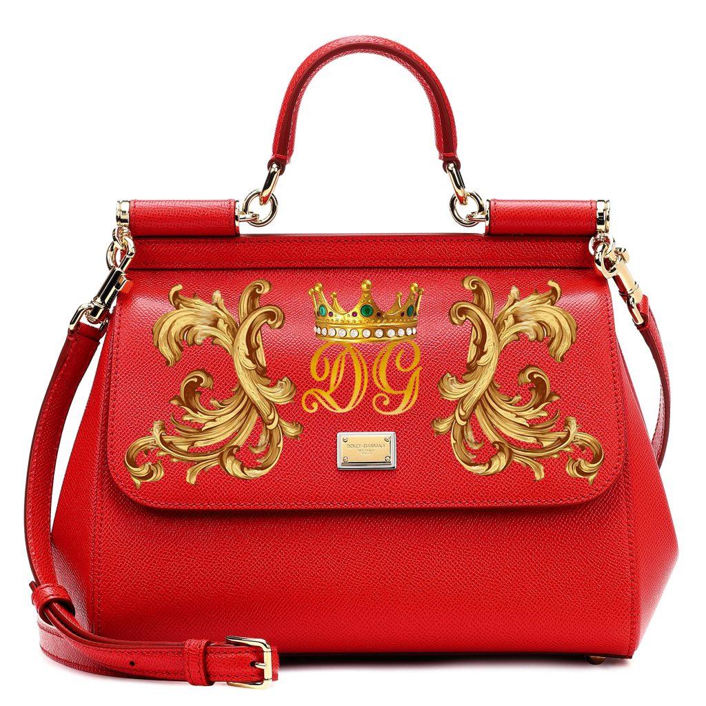 Уникальная возможность украсить сумку своим принтом: художник Dolce & Gabbana в Киеве