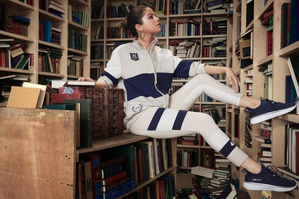 Селена Гомес демонстрирует новую коллекцию Puma