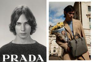 Красота жизни в рекламной кампании Prada: букеты в газетах и строгие фото