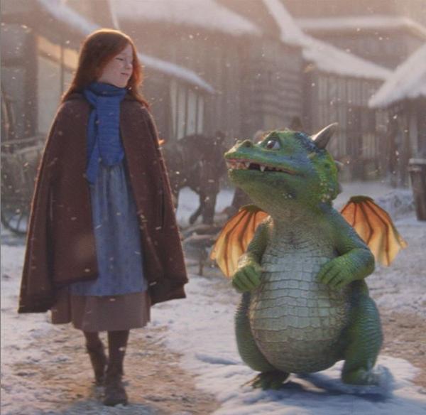 Дружба девочки и дракона: универмаг John Lewis делится рождественским роликом