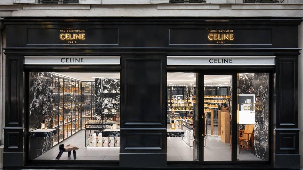 Celine открыли первый парфюмерный магазин в Париже
