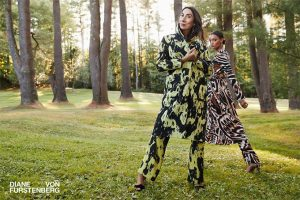 Женщины и искусство: праздничная линейка от Diane von Furstenberg