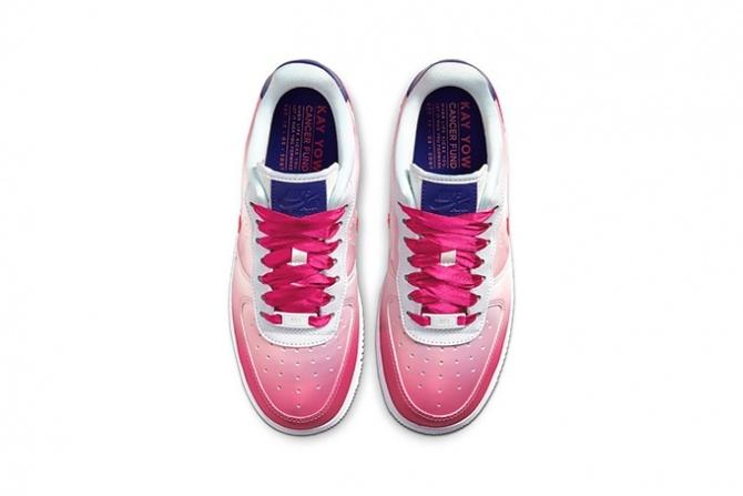 Борьба с раком: Nike демонстрируют кроссовки в поддержку онкобольных