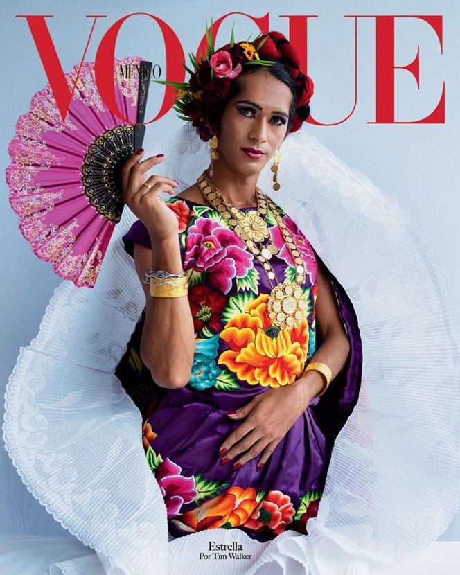 На обложке Vogue Mexico появилась трансгендерная женщина