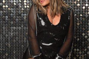 Наталья Могилевская в total black look блистает на благотворительном аукционе White Box
