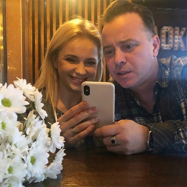 Лилия Ребрик и Андрей Дикий празднуют восьмую годовщину свадьбы