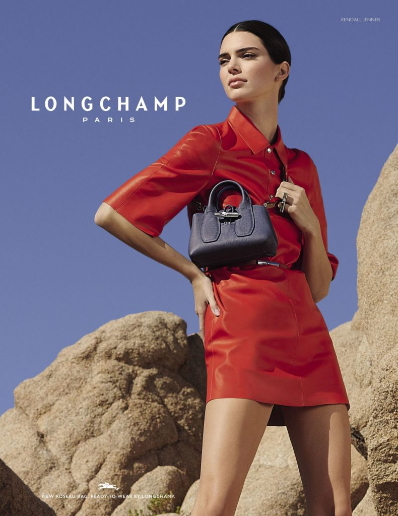 Солнечная Калифорния: съемка от Longchamp с участием Кендалл Дженнер