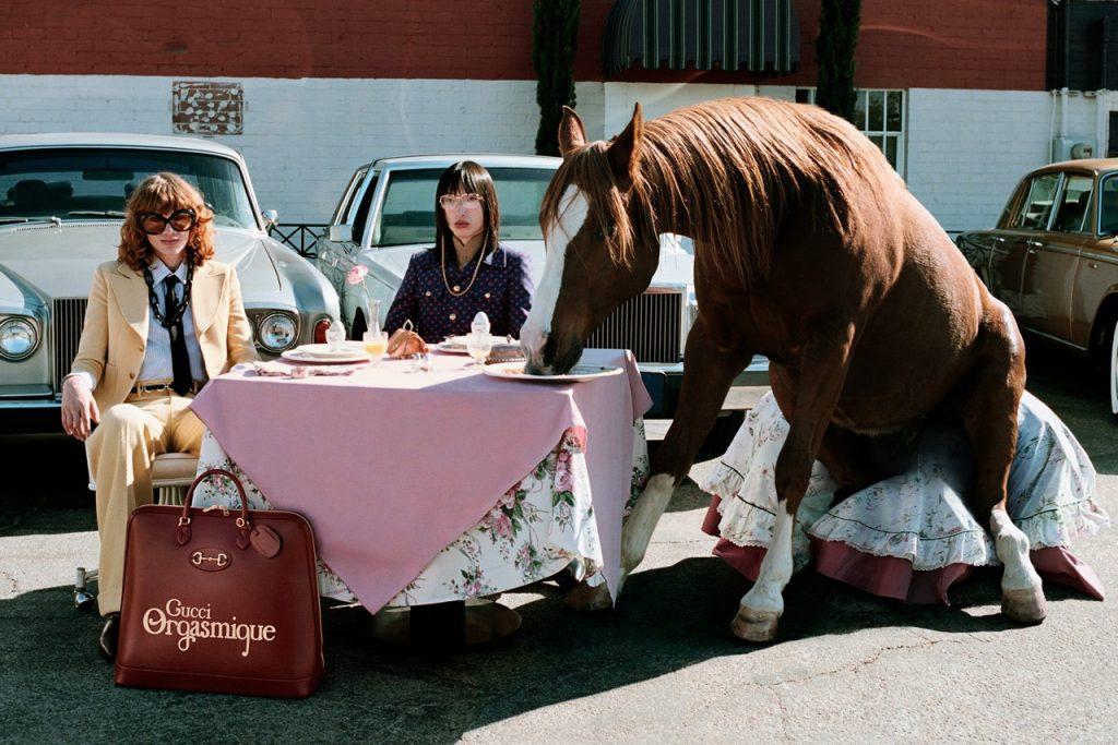 Свобода, смелость и лошади: чем еще удивляет кампейн от Gucci