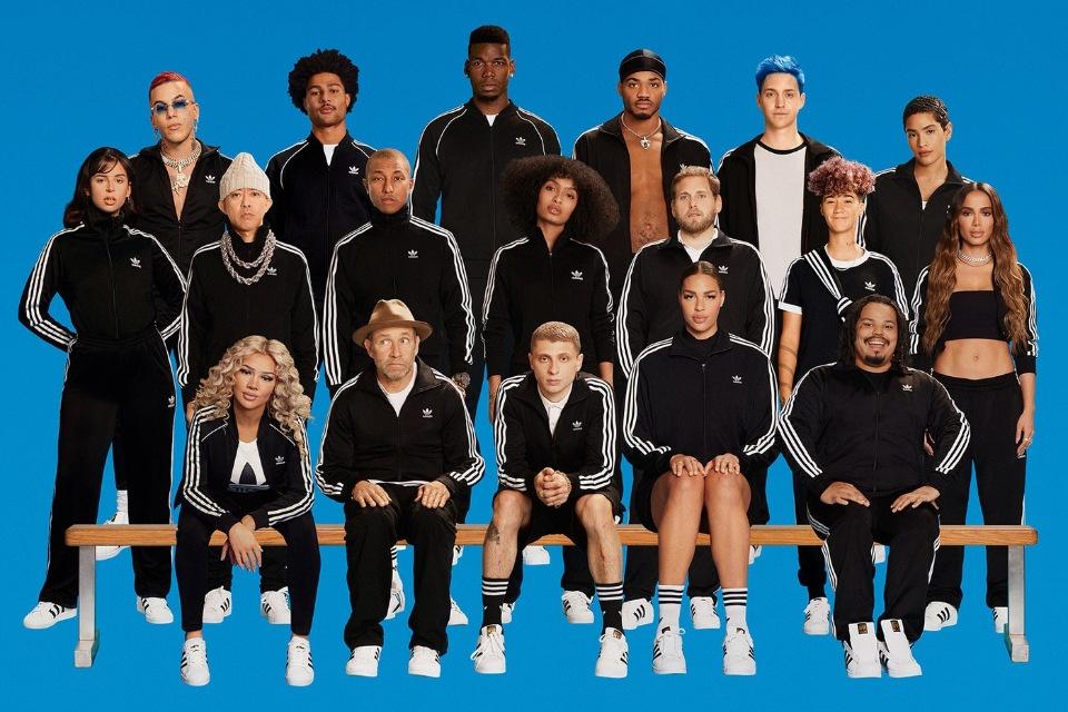 Сила единения и командная игра: запуск от Adidas Originals