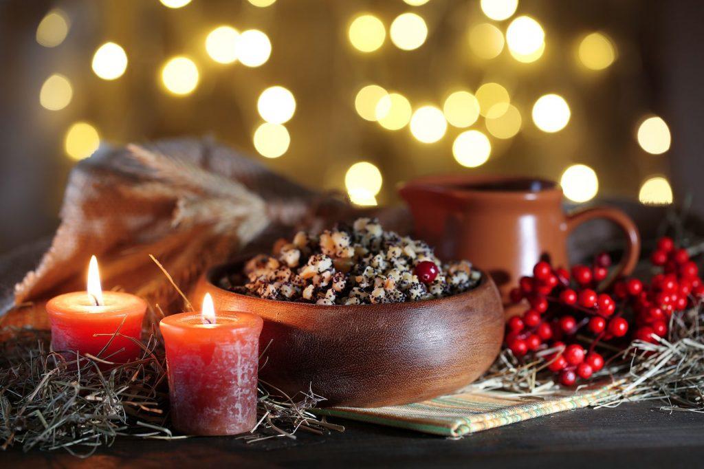 Традиционная рождественская кутья