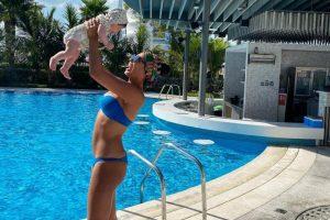Замечено: Санта Димопулос весело проводит время с дочерью