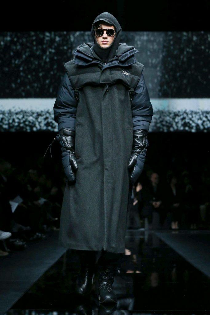 Milan Men's Fashion Week: эко-материалы и горнолыжный стиль от Giorgio Armani