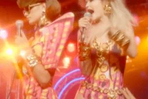 Дискотека 80-х: сестры Хадид и Тайра Бэнкс в кампейне Moschino