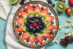 Чем побаловать себя в Татьянин день? Рецепт пирога с фруктами