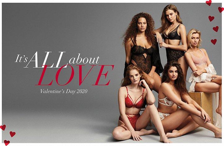 Пикантный День Святого Валентина: новый запуск от Victoria's Secret
