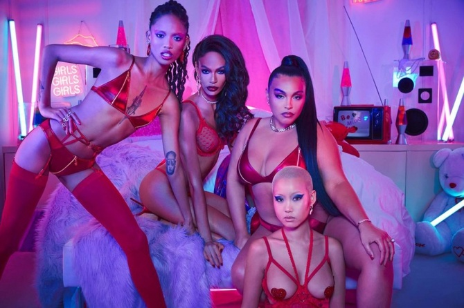 Бренд Рианны: Savage x Fenty презентуют коллекцию к Дню Святого Валентина