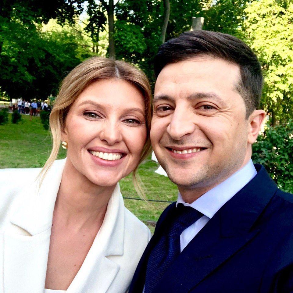 Это любовь: Владимир Зеленский трогательно поздравил свою супругу с днем рождения