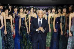 Угроза заражения: показ от Giorgio Armani проходит без гостей