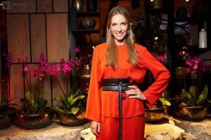 Образ недели: Катя Осадчая в облегающем платье блистает на вечеринке Playmate of the Year