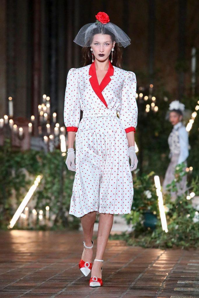 Новая интерпретация Дракулы в моду: Rodarte на Неделе моды в Нью-Йорке