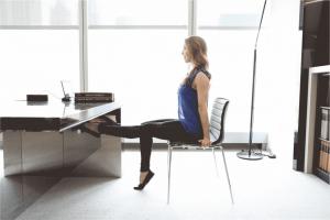 Упражнения, которые можно выполнить на работе так, что никто не заметит