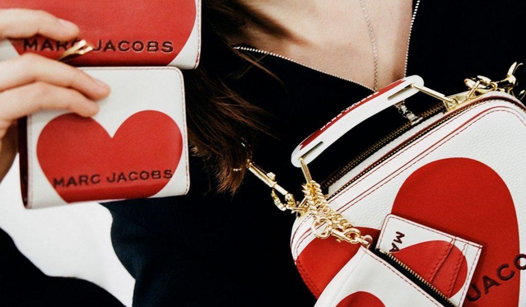 Валентинки от Marc Jacobs: коллекция сумок в честь Дня влюбленных