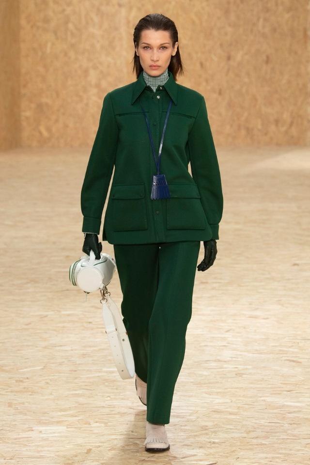 Новый взгляд на спортивную одежду: Lacoste на Неделе моды