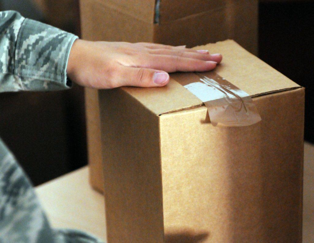 Нужно ли дезинфицировать упаковочную коробку?
