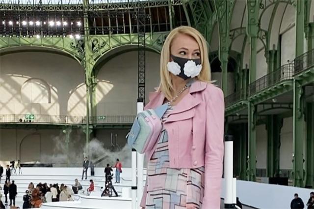 Главный хит недели моды в Париже: hand made маски от Яны Рудковской