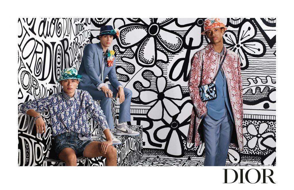 Dior презентую коллаборацию с дизайнером Шоном Стусси