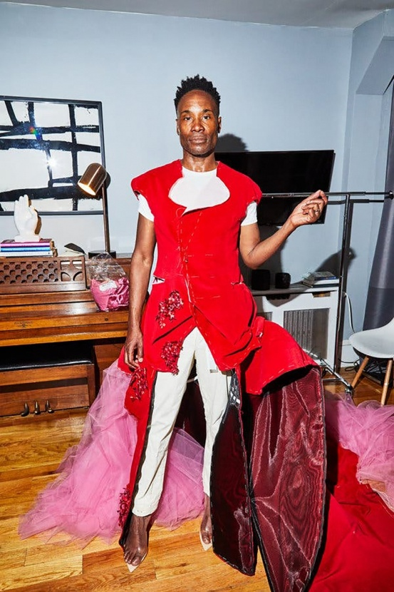 Почувствуй себя моделью: Билли Портер запустил челлендж в Инстаграм