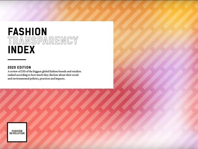 Fashion Revolution презентуют рейтинг самых прозрачных брендов 2020 года