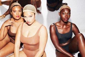 Новая коллекция от Skims: Ким Кардашьян показывает линейку бесшовного белья