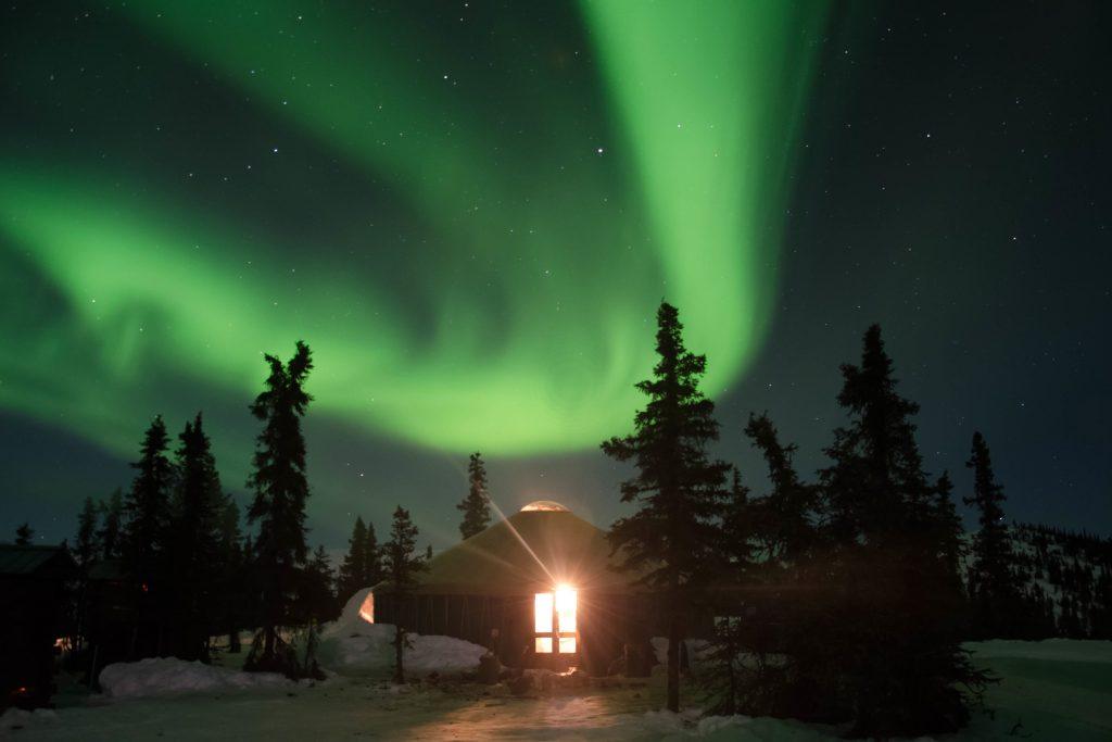 Как увидеть северное сияние, сидя дома на диване