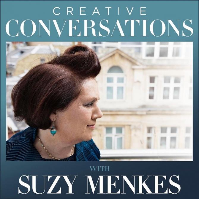 Модный критик Сьюзи Менкес запустила собственный подкаст