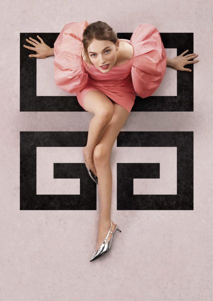 Givenchy представляют новый парфюм, лицом которого стала популярная супермодель