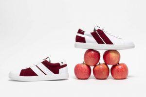 Оригинальное решение: бренд Caval представляет кроссовки из яблок