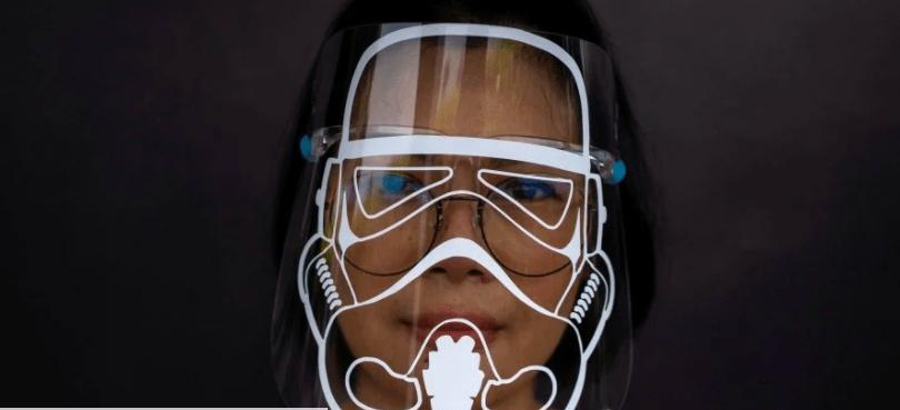 Почувствуйте себя джедаем: дизайнер предлагает защитные экраны в стиле Звездных войн