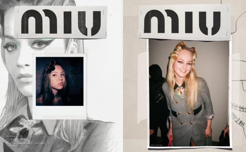 Джиджи Хадид стала фотографом и сняла кампейн для Miu Miu