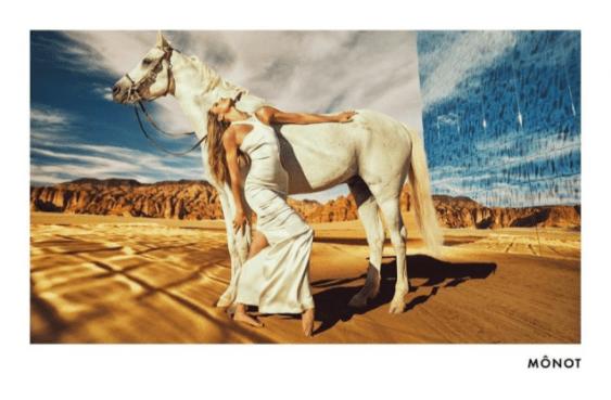 В окружении пустыни: Кейт Мосс стала лицом линейки от Mônot