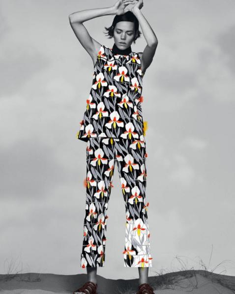 """Prada показывают вторую часть осеннего кампейна """"Painted in Prada"""""""