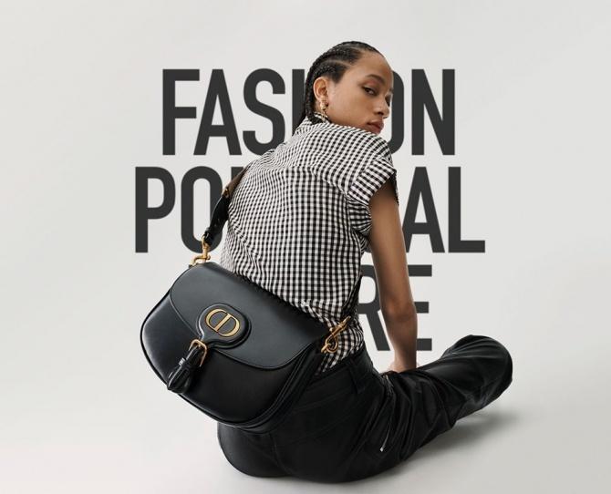Dior выпустили сумку в честь собаки Кристиана Диора