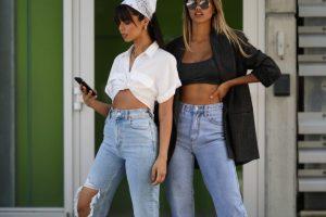 Как выбрать правильные джинсы на высокой талии?