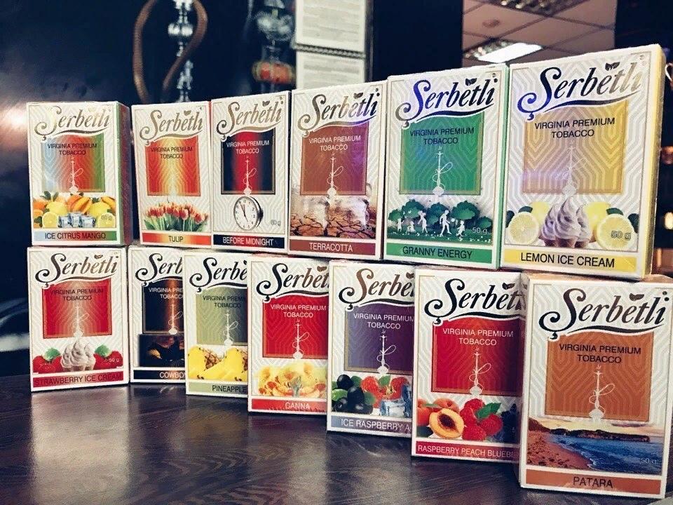 Табак Serbetli — для настоящих ценителей кальяна