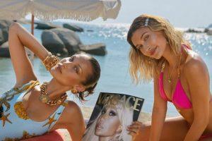 Белла Хадид и Хейли Бибер стали главными героями кампейна от Versace
