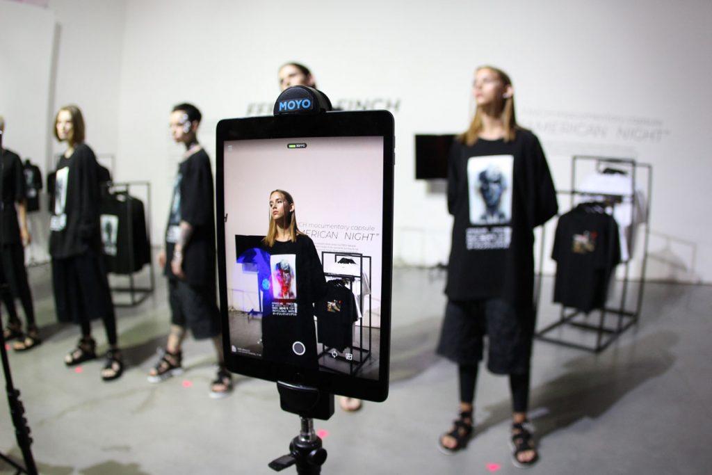 Симбиоз моды и новых технологий: FINCH показывают линейку с дополненной реальностью