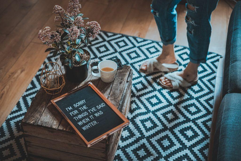 Как выбрать идеальный коврик для той или иной комнаты в доме
